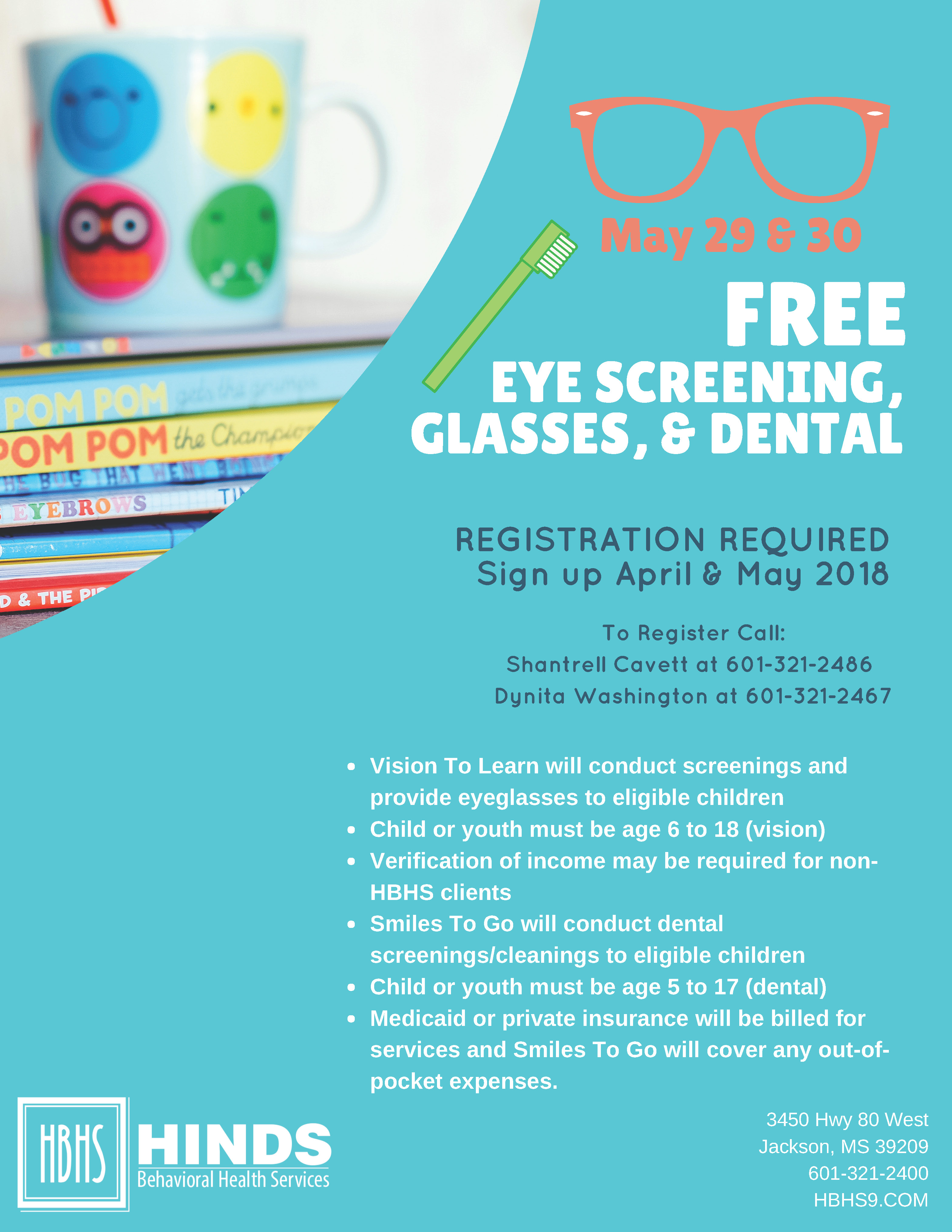 b6c05df63a9 Visit Hinds Behavioral Health Services on May 29th and 30th for free vision  screenings