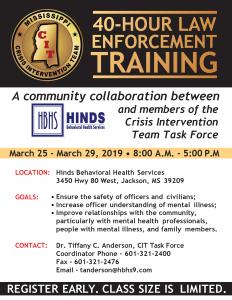 law enforcement training flyer